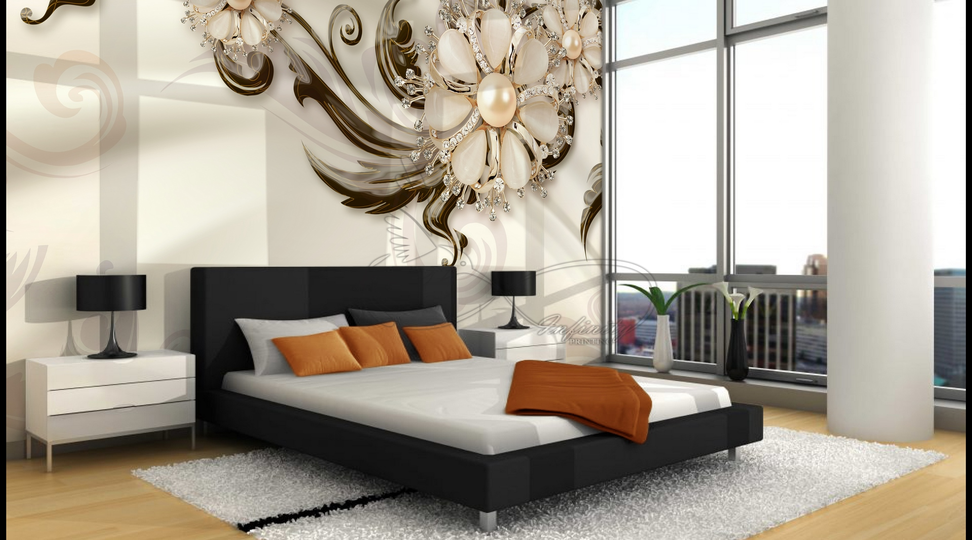 Free Mokap Open Layer Design Living Room Background No. 55
