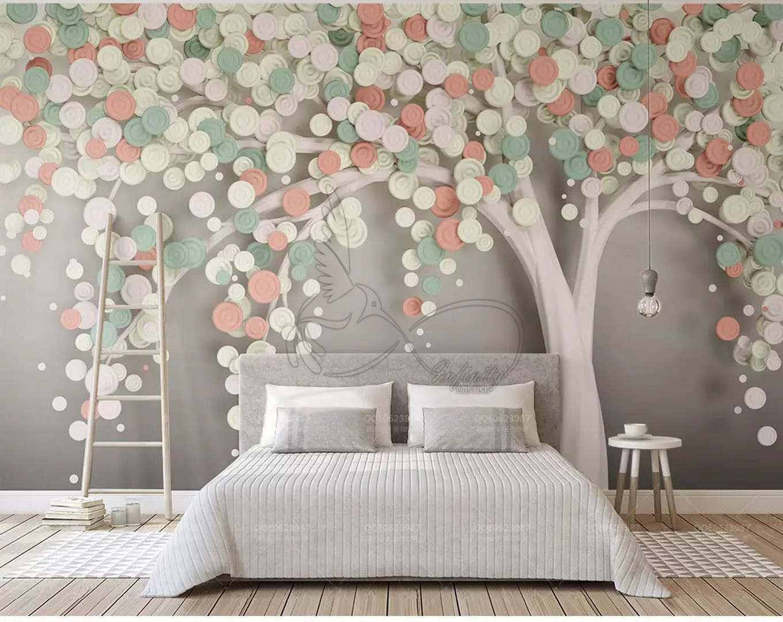 Fantasy child room design wall poster printing code 3135